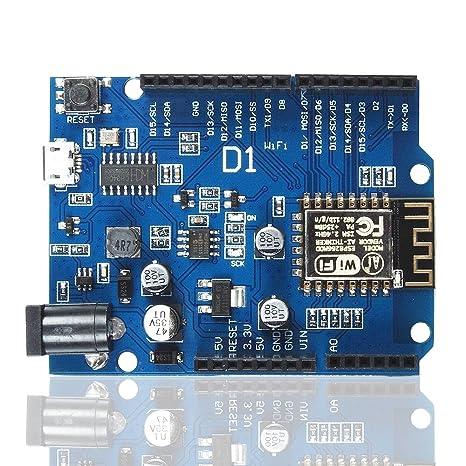 OSOYOO ESP-12E WiFi placa de desarrollo basada ESP8266 ...