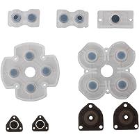 Timorn Pièces de rechange All Set de Key Bouton Pad Kit Boutons Conductive Pad pour Playstation 4 PS4