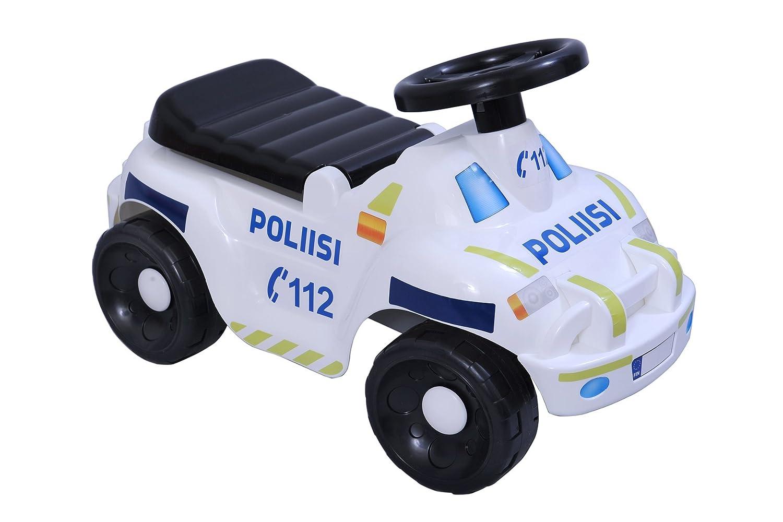 PLASTO plasto1120000fpo 60 x 22 cm, color negro y blanco para off-road Finlandia coche de policía