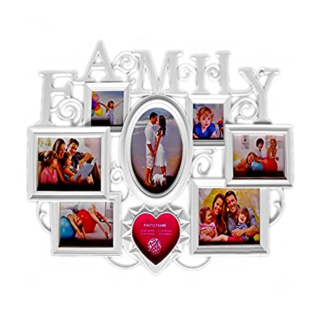 multiple picture frames family. Trimming Shop Photo Frames Multiple Photos Wallmount Home Arts Picture Decor Sweet Family Memories 8