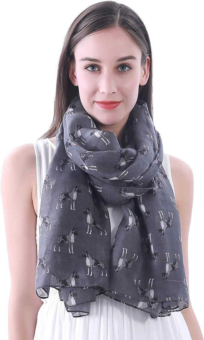 Headscarf Basset Hound Puppy Elegant Neck Scarves for Women Girls
