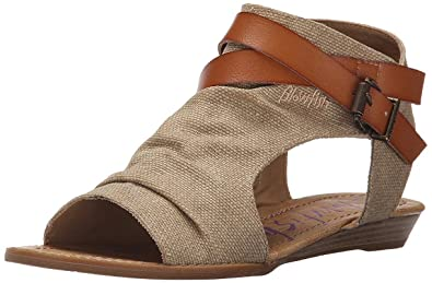3a87d7f5ffb Image Unavailable. Image not available for. Color  Blowfish Womens Balla  Gladiator Sandal (Desert Sand ...