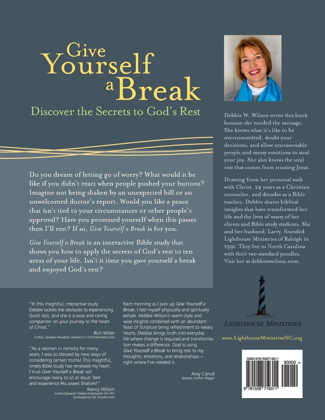 Give Yourself a Break: Discover the Secrets to God's Rest