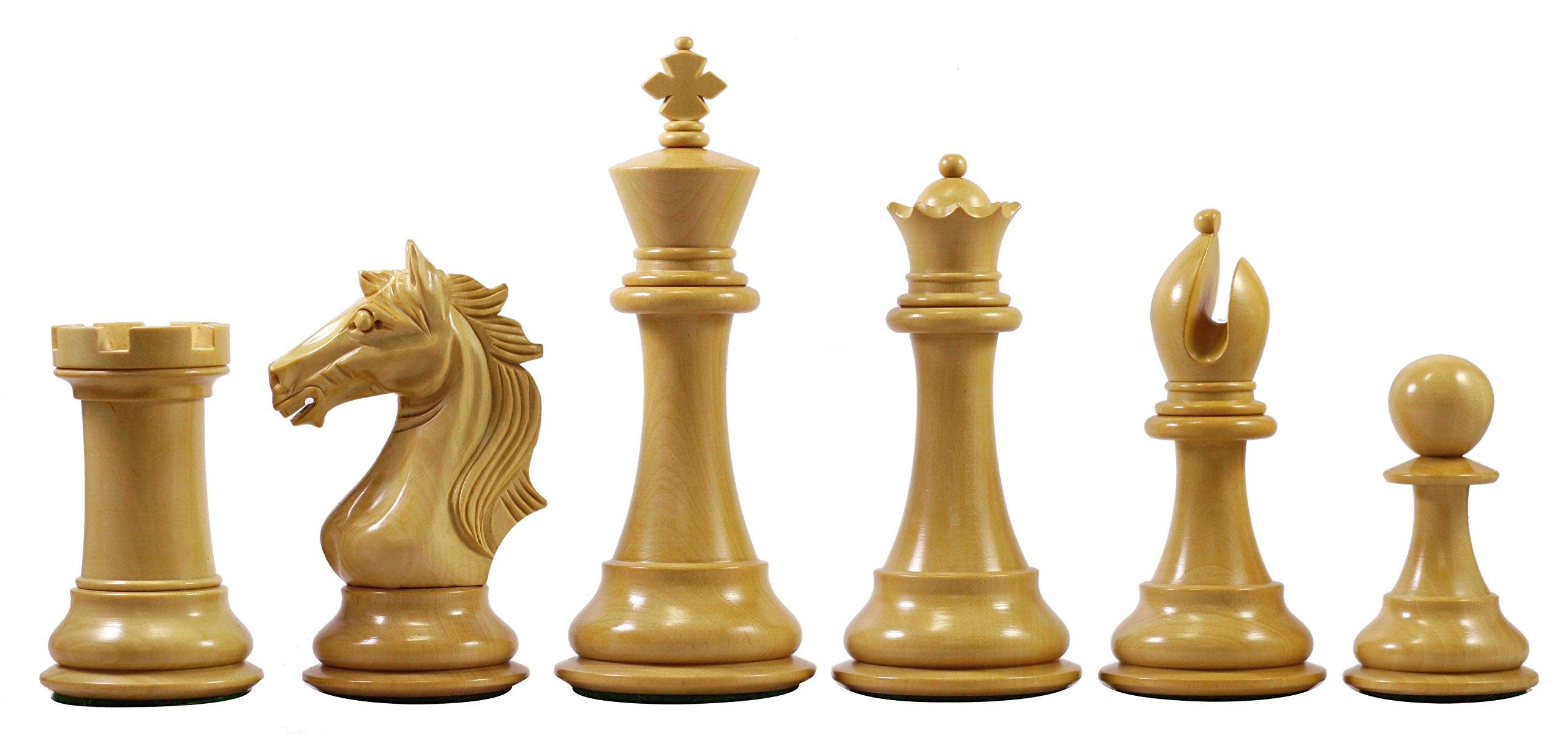 Elite Series Premium Staunton 4'' Chess Set by Staunton Empire (Image #6)