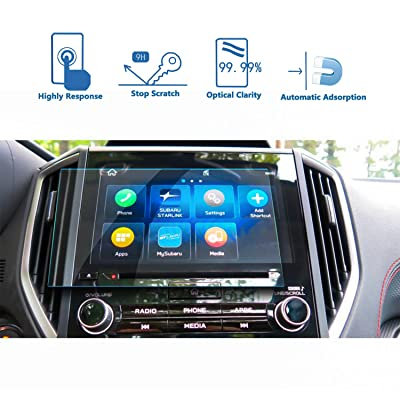 LFOTPP Customized for 2020 2020 Forester 8-Inch Starlink Car Navigation Screen Protector Tempered Glass Audio Infotainment Display Center Touch Protective Film Scratch-Resistant, High Clarity 8-Inch