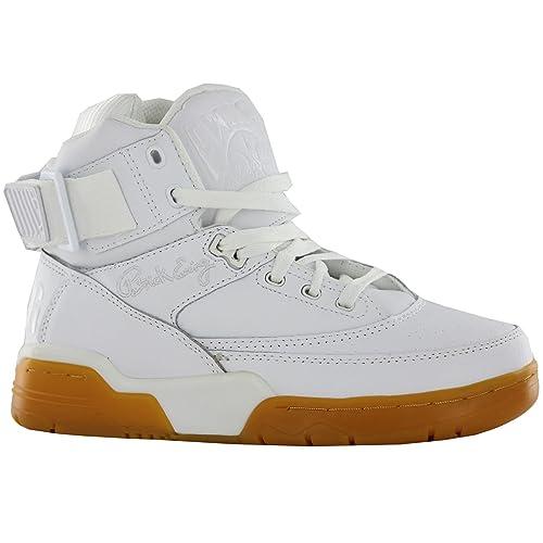 Patrick Ewing - Zapatillas para Hombre Blanco Blanco: Amazon.es: Zapatos y complementos