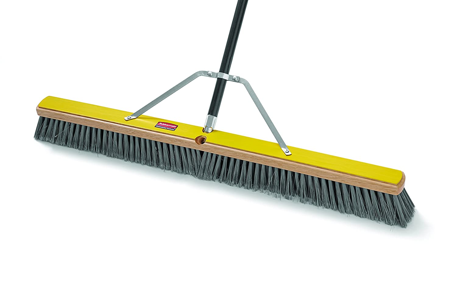 Rubbermaid Commercial Broom Head, Fine, 36' 36 Rubbermaid Commercial Products FG9B0400GRAY