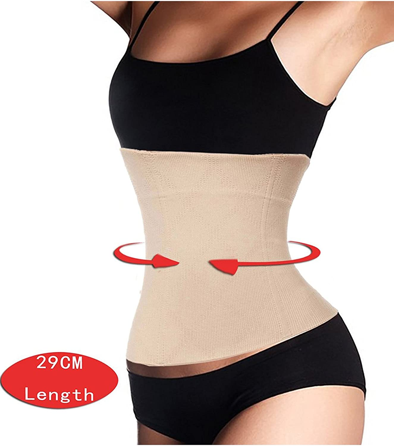 Loday 2 in 1 Postpartum Recovery Belt, Body Wraps Works for Tighten Loose Skin