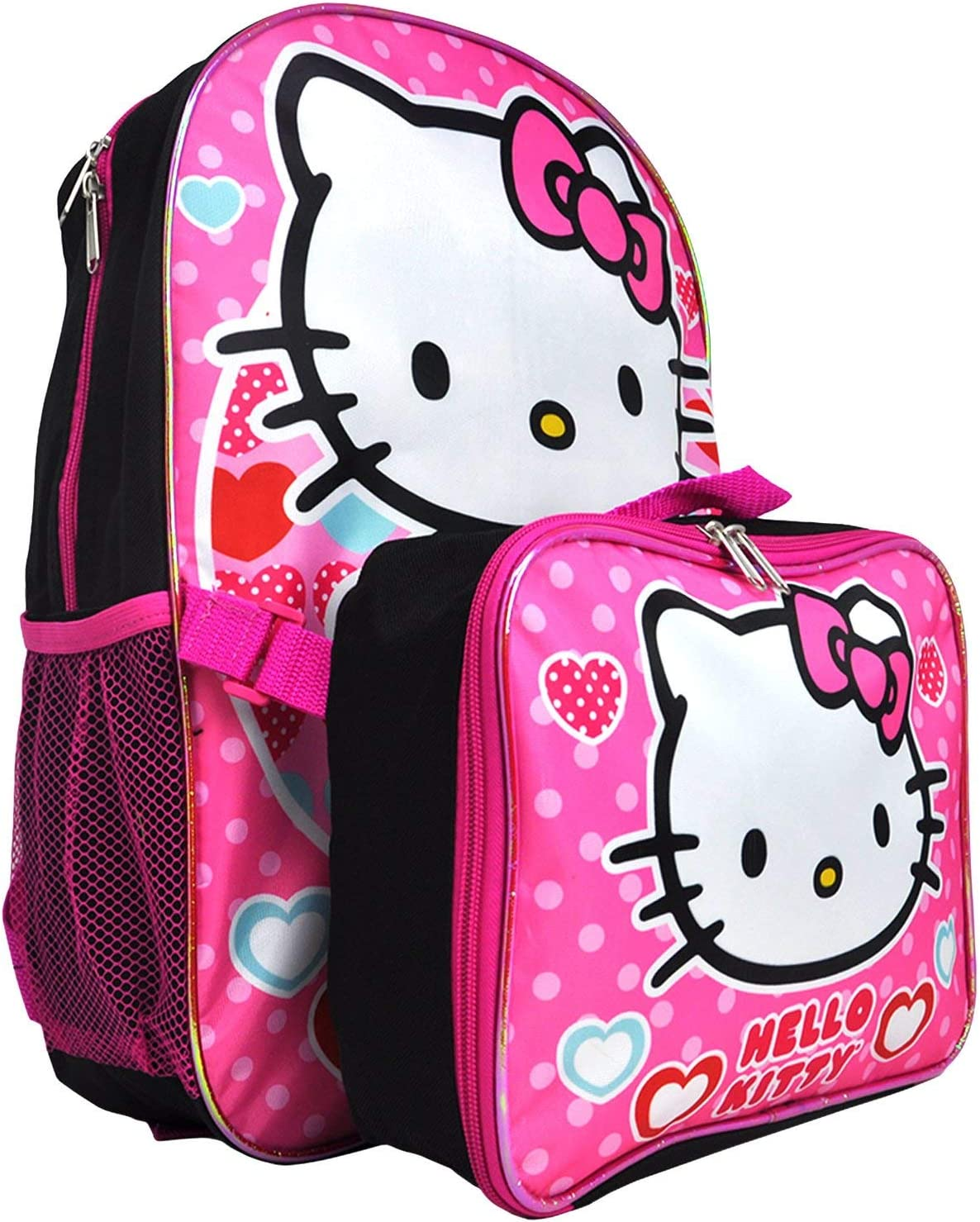 Laptop Backpack Hello Kitty Rainbow Dounts Large Computer Backpack School Travel Backpack Casual Daypack For Women//Men