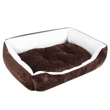 Ardisle - perro mascota cama cojín - Suave y cálida cesta cachorro gato alfombrilla gran tamaño mediano XL cómodo: Amazon.es: Productos para mascotas