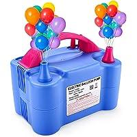 MESHA Electric Balloon Pump, Dual-Nozzle Portable Balloons Air Pump for Balloon Arch, Balloon Garland, Party Decorations…