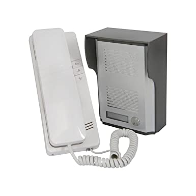 Wired Door Entry Phone Receiver System 100m Range Security