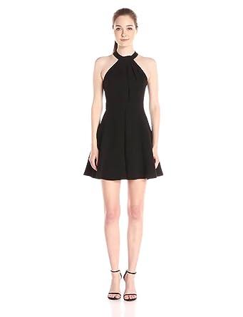 Little Black Halter Dress