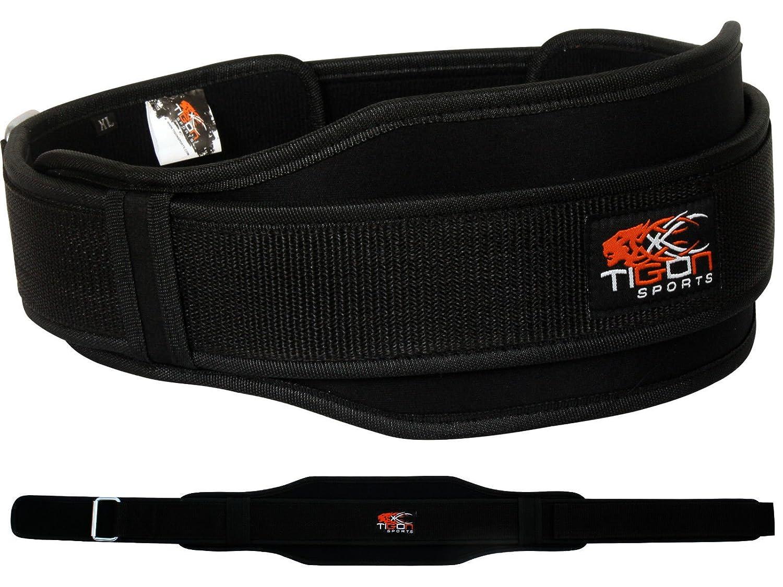 Cinturón de neopreno para levantamiento de pesas gimnasio o fitness de doble