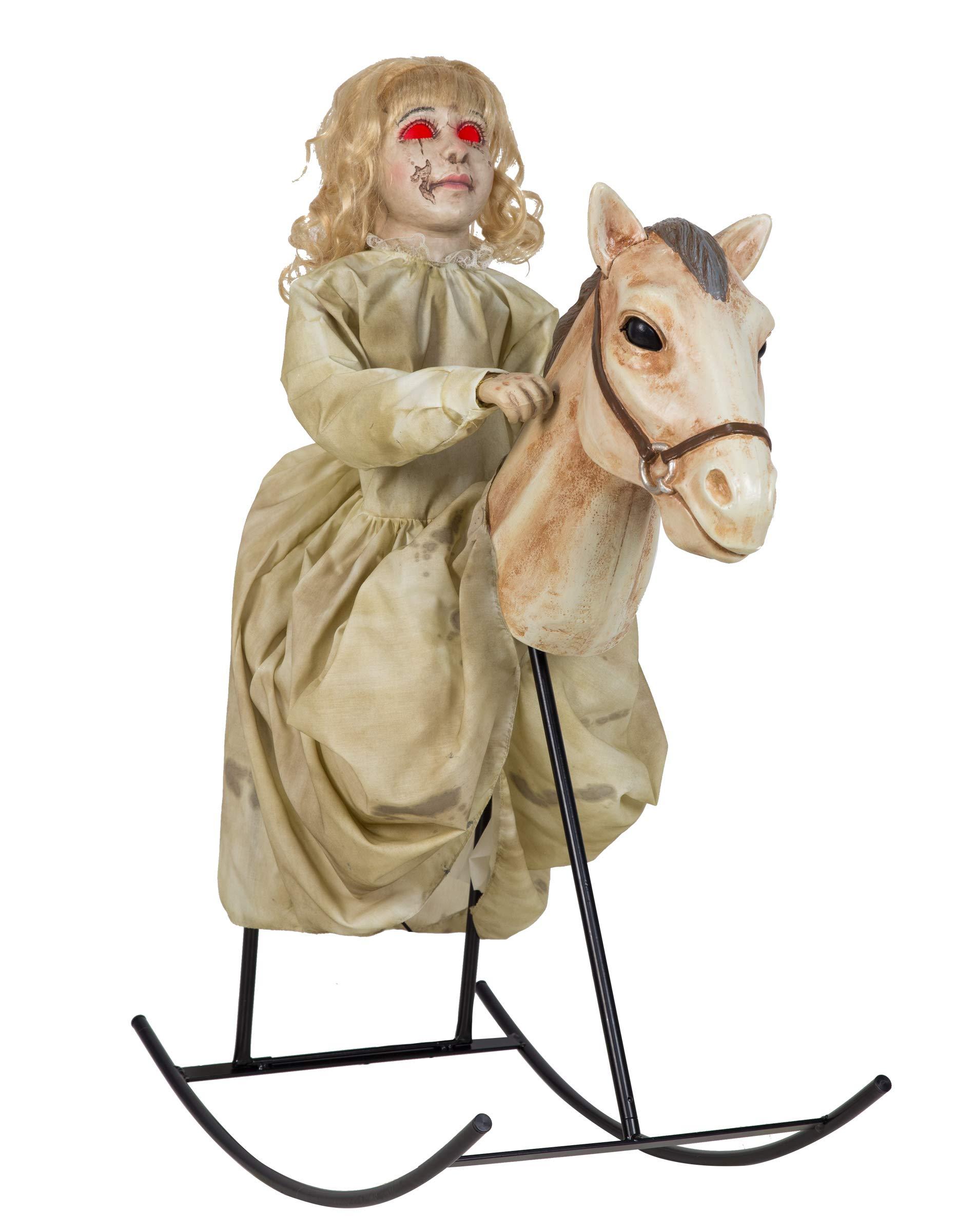 3 Ft Rocking Horse Dolly Animatronic