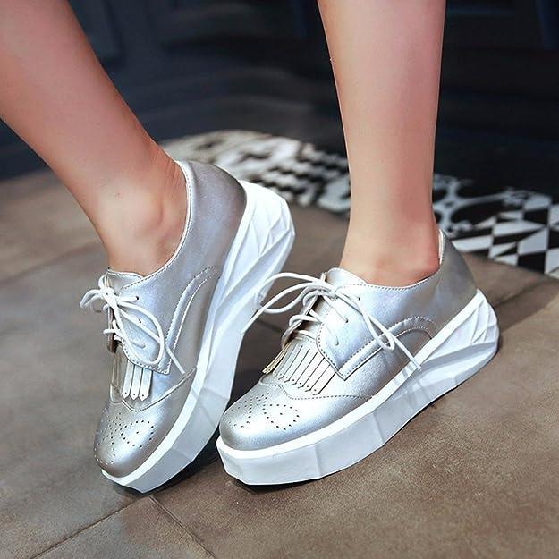 c983f331 Otoño Zapatos Blancos Pequeños Placa Cinturón Femenino De Corea Zapatos  Zapatos De Ocio Mujer Calzado Deportivo Femenino Pastel Pino Inferior  Grueso Zapatos ...