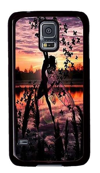 Carcasa de plástico para Samsung Galaxy S5 Negro Carcasa ...