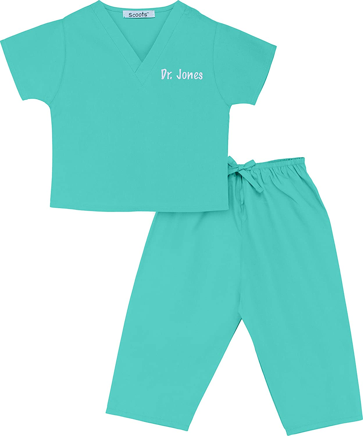 e64176f423f Amazon.com  Scoots - Personalized Kids Scrubs