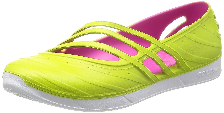 adidas QT Comfort Damen Neo Schuhe Sandalen Slippers Ballerinas Pantoletten  37 EU|Gr眉n