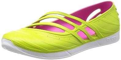 a81e2622cd87ac adidas Womens QT Comfort Sandals Slip On Flip Flops Pool Shoes Green BNIB  UK 4