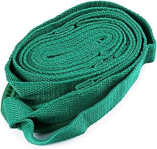 Fjiujin,Cotton Yoga Stretching Strap Exercise à Utiliser dans Tous Les Cours de Yoga(Color:Vert)