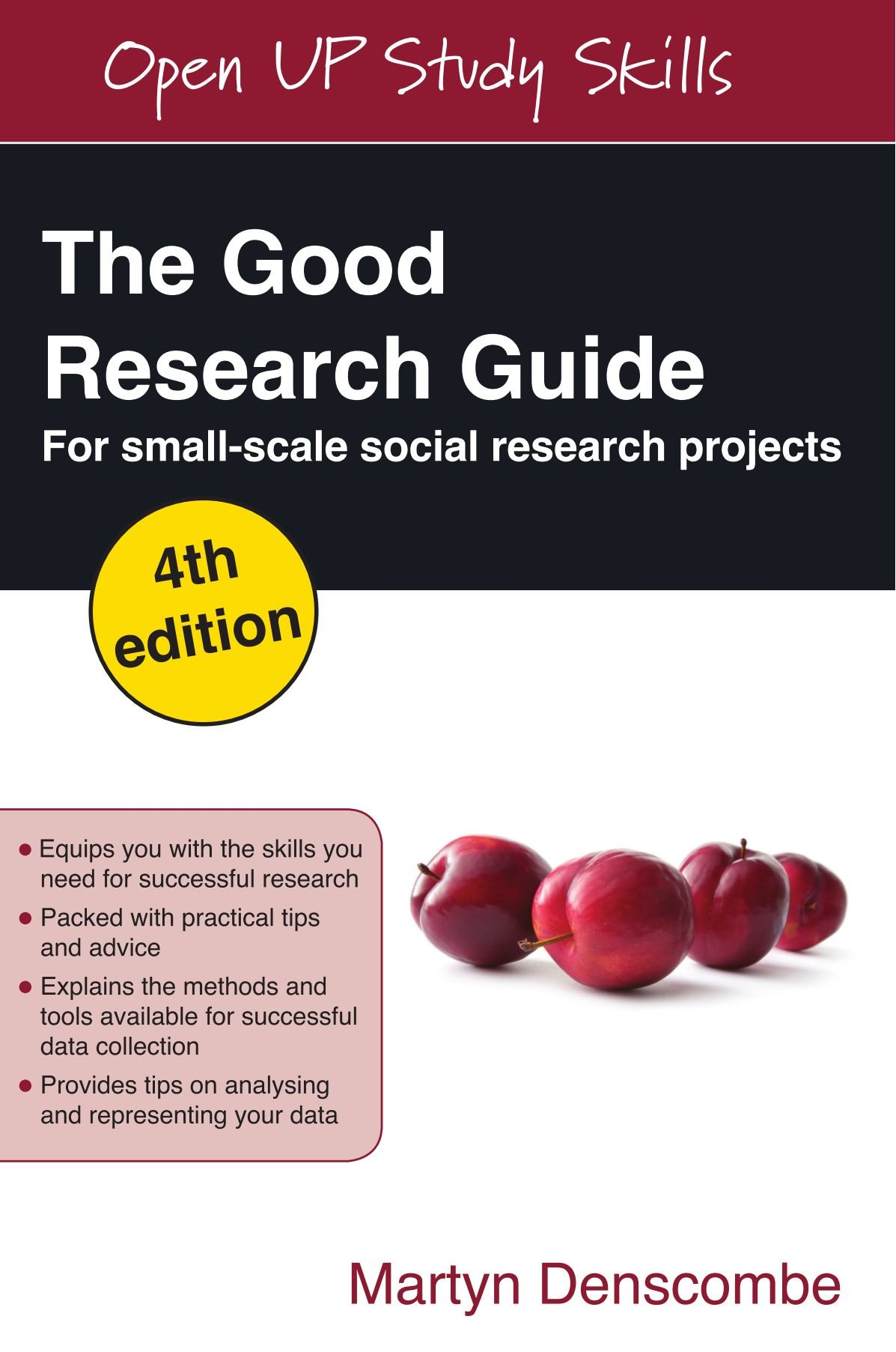 The Good Research Guide: For Small-Scale Social Research Projects: for small -scale social research projects: Amazon.co.uk: Martyn Denscombe: Books