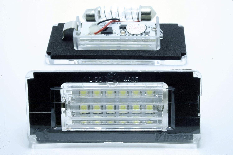 2 x luci per targa LED Mini R56 R57 R58 R59 COOPER ONE CANBUS