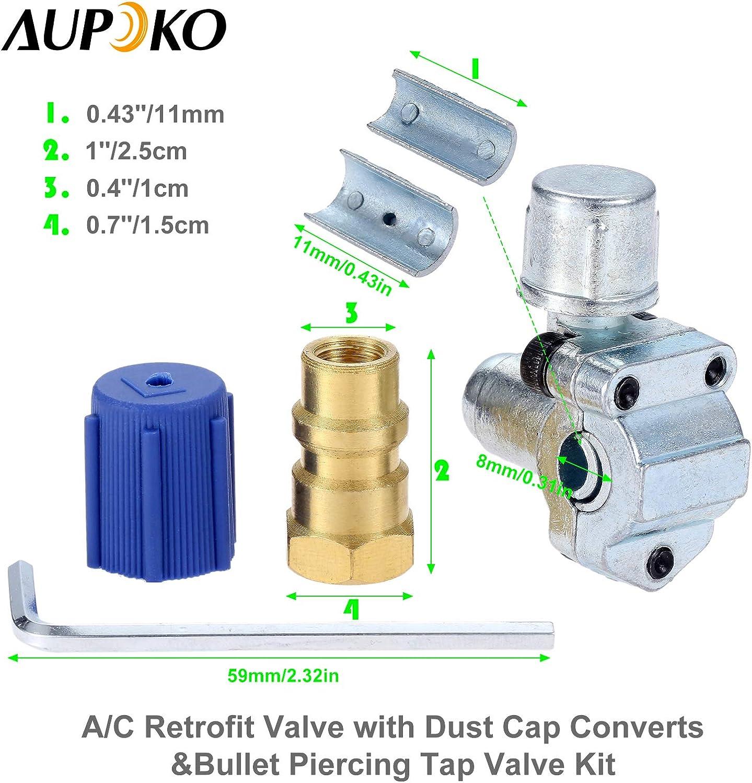 Air Conditioning Wisepick BPV31 Bullet Piercing Valve Line Tap ...