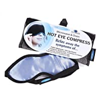 The Eye Doctor -Hot Eye Compress Heat bag for Dry Eye, Blepharitis, MGD. Microwave and Oven Heating