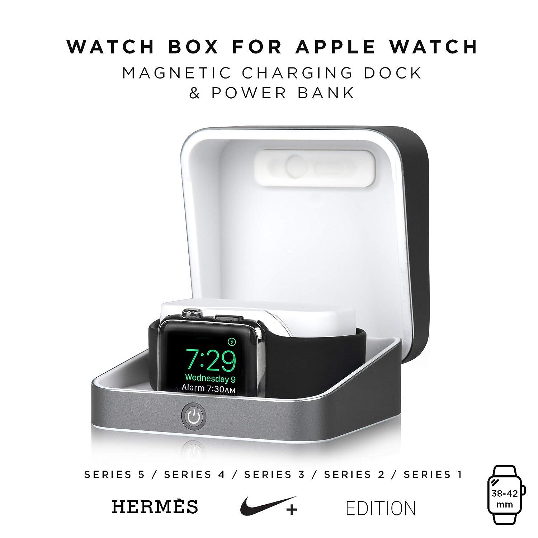 Amazon.com: Apple cargador de reloj funda [iWatch cargador y ...