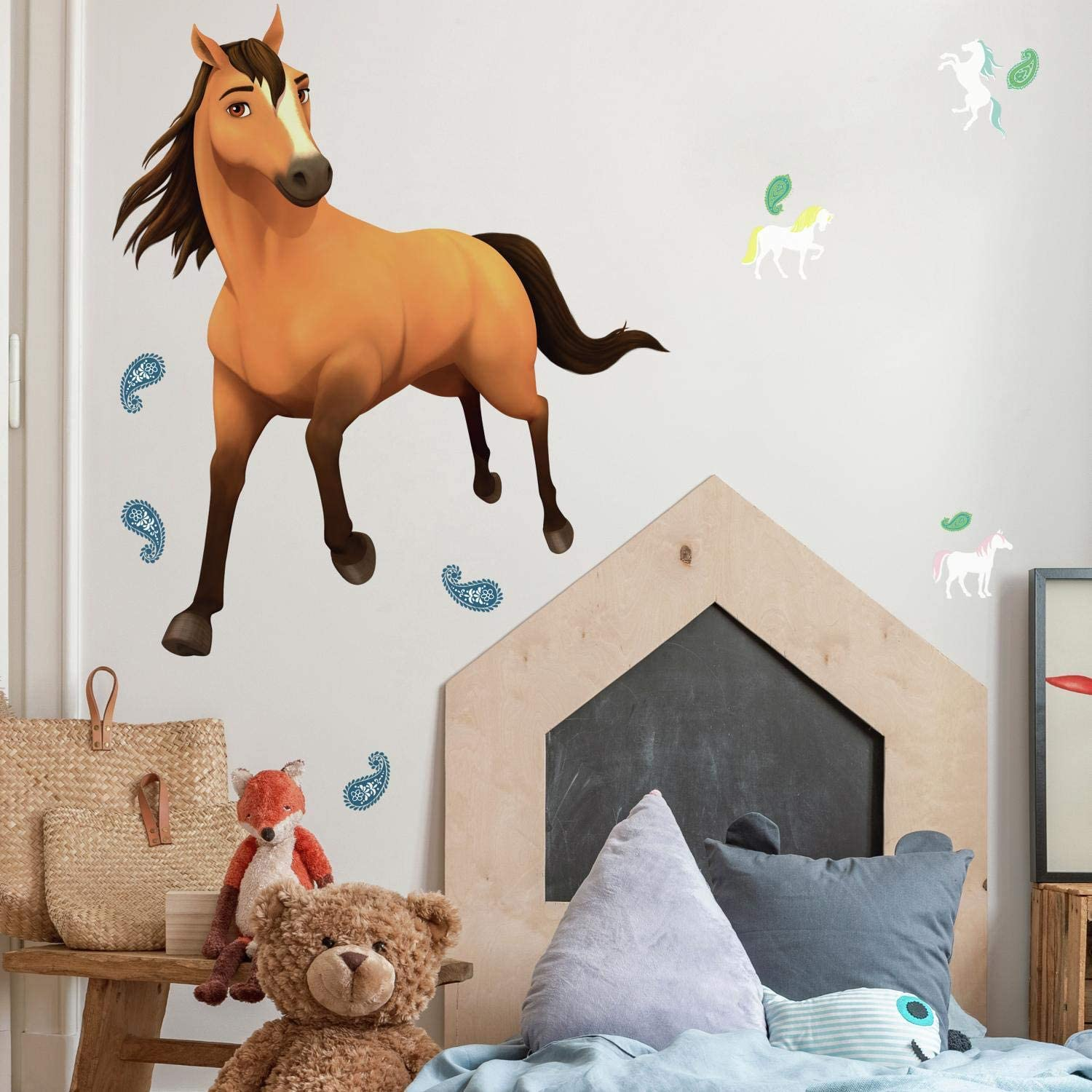 RoomMates Spirit Riding Free Peel and Stick Giant Wall Decals