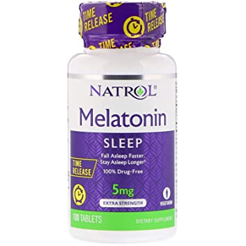 Image Unavailable. Image not available for. Color: Melatonin Time Release ...