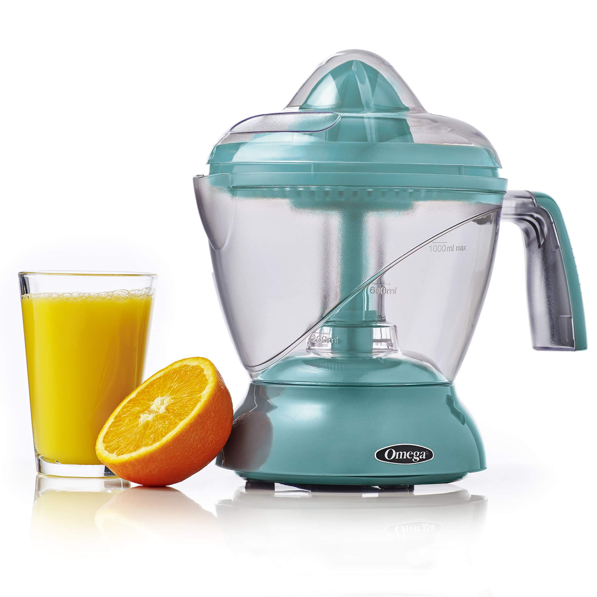 Omega CJ1000A 4-Cup Citrus Juicer, Blue