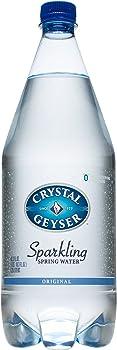 12-Pack Crystal Geyser Sparkling Spring Water, 1.25 Liter