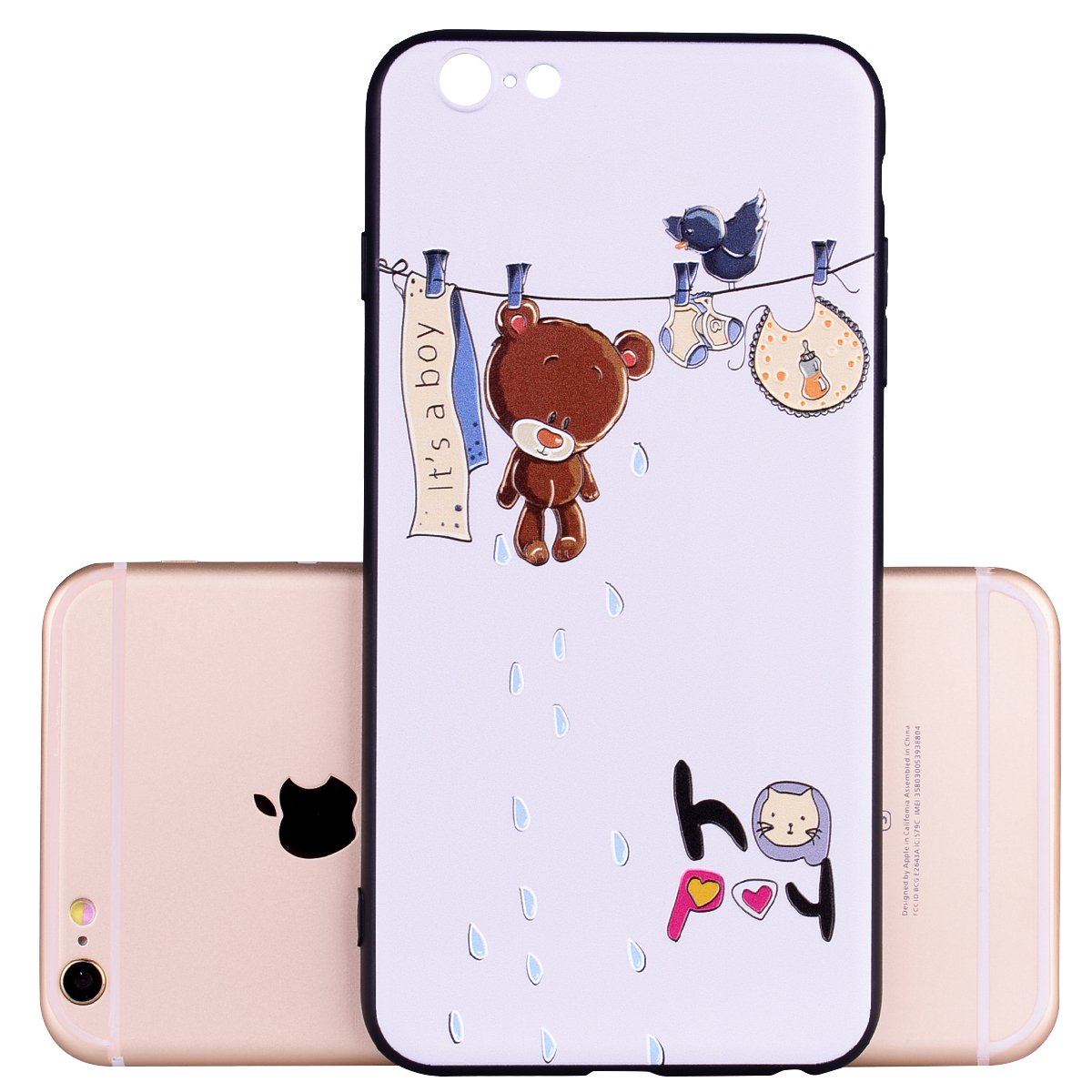 Amazon.com: ZAOX - Carcasa para iPhone 6S Plus, silicona ...