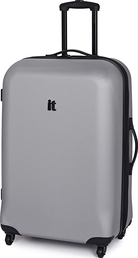 It Luggage grande Maleta 4 Ruedas Plata