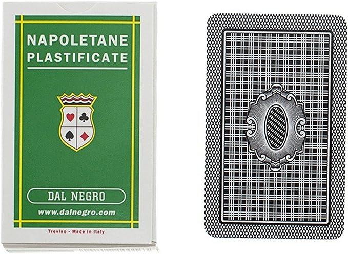 CARTE DA GIOCO NAPOLETANE PLASTIFICATE