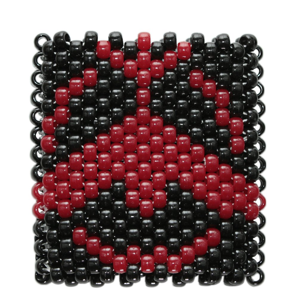 Red DJ Tiesto Kandi Cuff by Kandi Gear