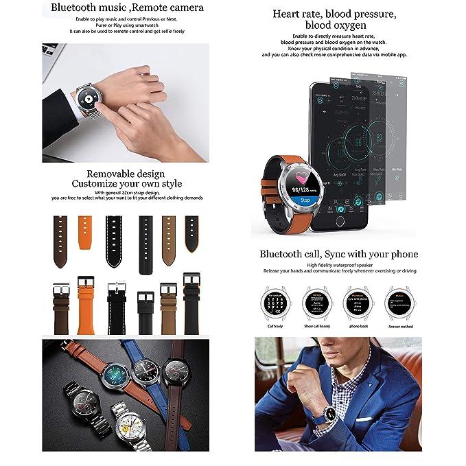 Reloj inteligente DT98 ECG para la presión arterial, monitor de ...