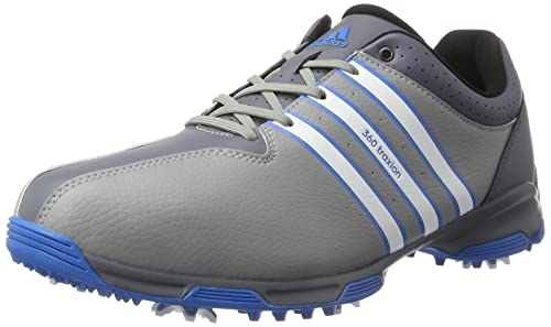 official photos bc740 13bf6 adidas 360 Traxion WD, Zapatos de Golf para Hombre, Gris Blanco Azul, 41.3  EU  Amazon.es  Zapatos y complementos