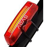 VOGEK LED Luz Trasera de Bicicleta, Faro Trasero Impermeable USB Carga Super Potente Luz Ciclismo con 6 Modos