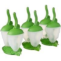 Tovolo Bug Popsicle Molds with Sticks Ice Pop Maker BPA Free Food Safe Dishwasher Safe – Shapes Include Beetle…