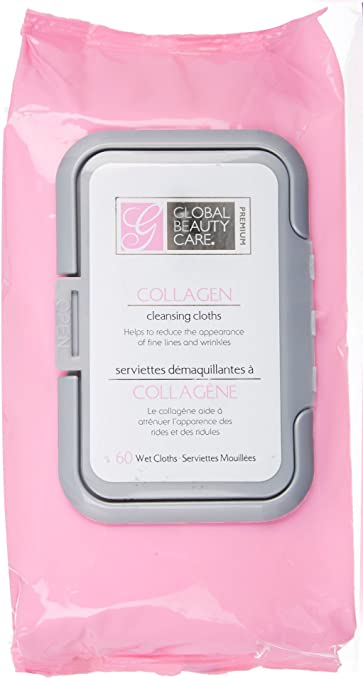 Global Beauty Care Collagen Cleansing Cloths, 60 cloths Stratford EFA Deodorizing Creme Rinse Sweet Pea & Vanilla 12 oz