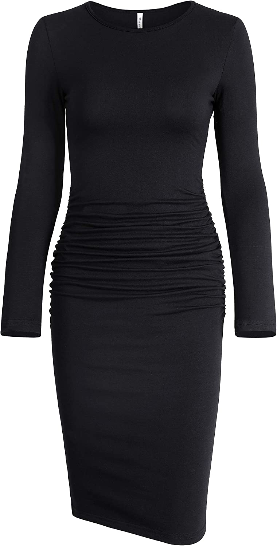Missufe Women's Casual Long Sleeve