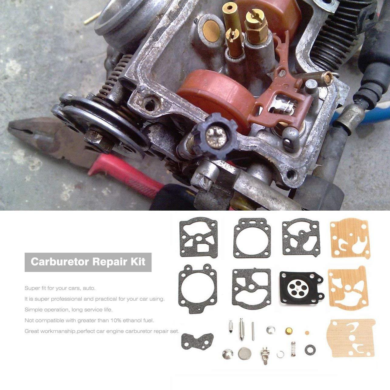 K20-WAT carburatore kit di riparazione Ricostruire strumento di guarnizioni per Walbro Accessori moto parti di riparazione del combustibile del carburatore di alimentazione