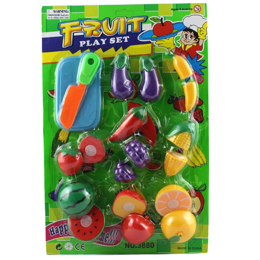 verphaoed cortar frutas verduras juego jugar cocina juguetes ...