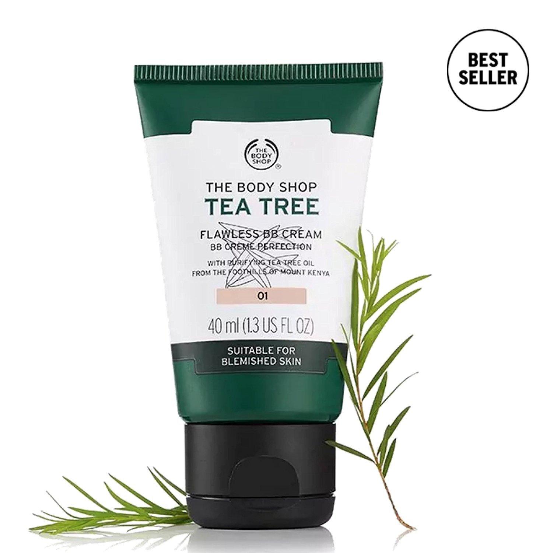 (03 - Dark) - The Body Shop Tea Tree Flawless BB Cream Perfection (03 - Dark)