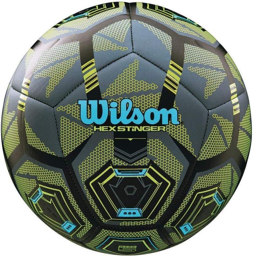 Wilson Stinger - Balón de fútbol, Talla 4: Amazon.es: Deportes y ...