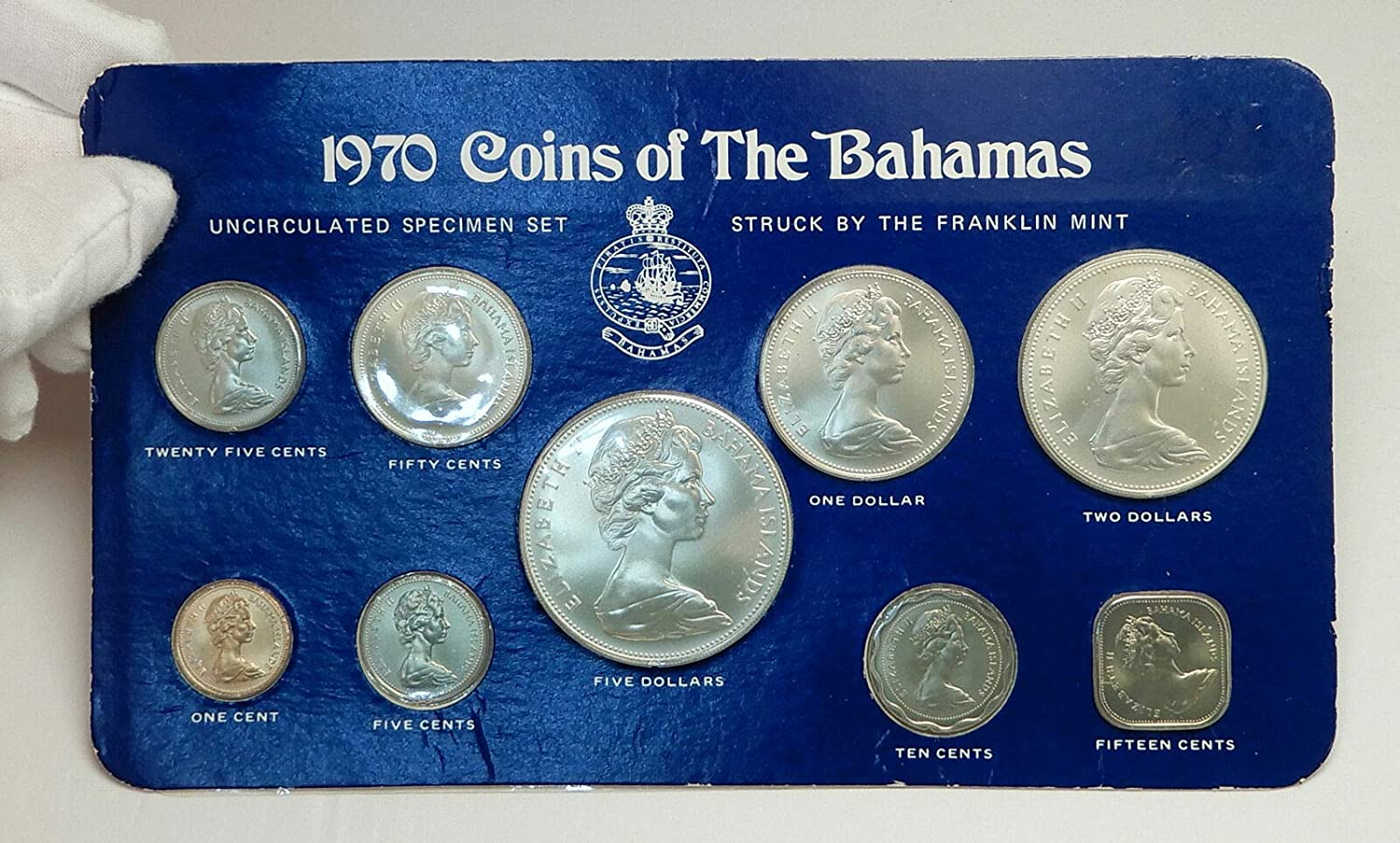 Beautiful High Grade Specimen Coins. 1986 50 Cent Coin Mint Set Only Year
