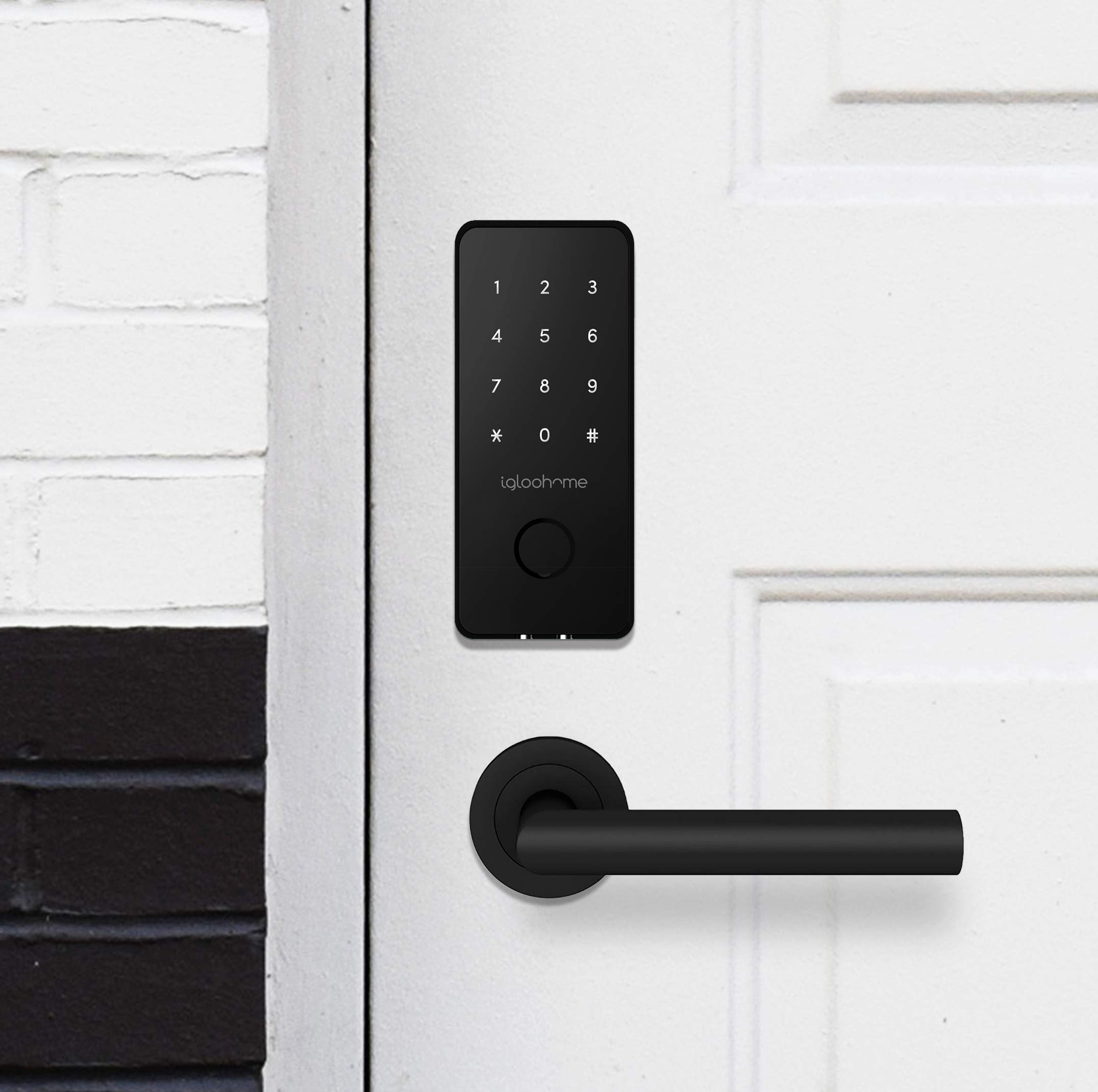 Igloohome Smart Electronic Deadbolt 2S, Grant & Control Remote Access with Pin Code - Touch Screen Keypad with Built-in Alarm - Bluetooth Enabled Works Offline - Works with Your Smartphone by igloohome (Image #6)
